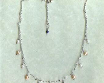 1135 Pearl Necklace, Wedding Necklace, Brides Necklace