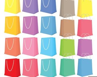 Shopping Bags Clipart