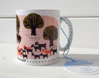 Ceramic Mug #Greekoliveharvest