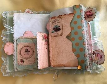 Vintage sweets junk journal