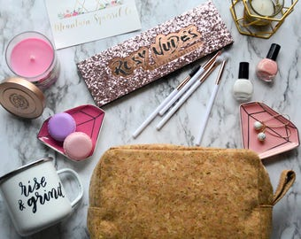 Cork Cosmetic • Toiletry Bag