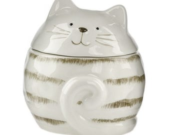 Scented Cat Candle Variety Fragrances Cute Kitty Candles Kitten Ceramics Home Decor Gift for Cat Lover Girlfriend Teenage Child Decoration