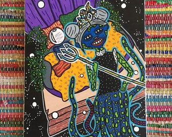 SeaSpace Princess Painting