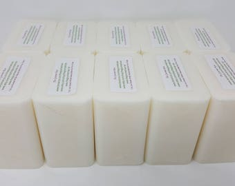 10 lb LOW SWEAT WHITE Melt And Pour SoAp Base Glycerin Glycerine 100 All Natural Wholesale Bulk SLs FRee No Detergent