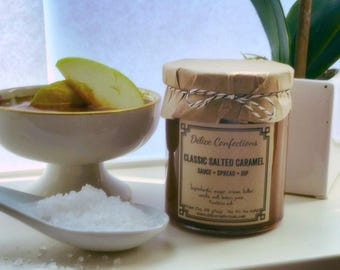 Salted caramel sauce/spread/dip