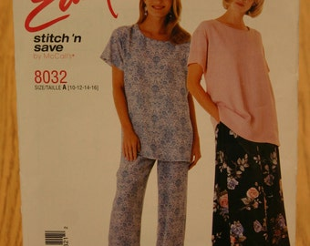Easy Stitch 'n Save by McCall's Misses Pattern 8032 Sizes 10-16