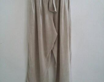 vintage linen trousers