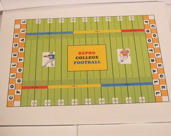 Repro College Football Game Set 2
