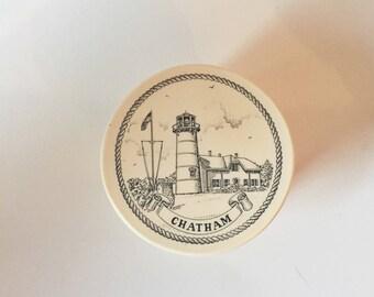 Lighthouse Box - Lighthouse Decor - Lighthouse Style - Chatham Souvenir - Lighthouse Souvenir