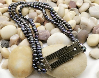 Colored Freshwater Pearl S925 Necklace