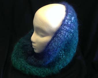 Mohair Continuous Scarf #2