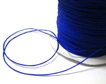 Dark blue nylon 0.4 mm the meter string