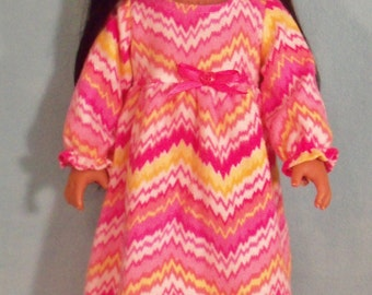 SALE/ 18 inch Doll Nightgown