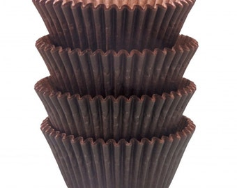 Black Baking Cups - Standard Size