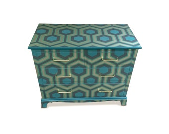 Austin Geometric Hexagon Chest of Drawers