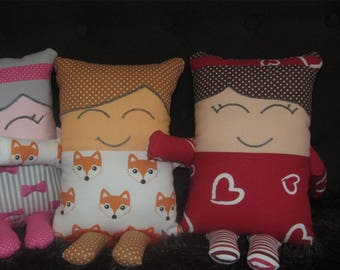 pillow cushion-hugging  gift boy girl  by_maryche