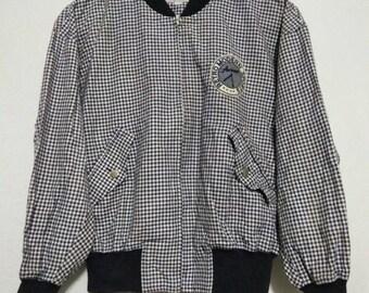Rare Vintage 90s Brand Answer Harrington Jacket by Arnold Palmer Retro Modern Sports/Munsingwear