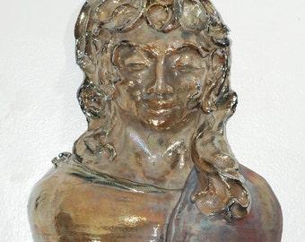 Kwan Yin Goddess Torso