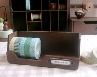 ON SALE Handmade Wooden Washi Tape Box - 1 Pcs