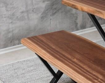 "Bench ""The Original"" - Solid Wood (Mahogany)"