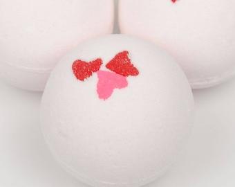 Magnolia Bath Bomb - Heart Bath Bomb - Vegan Bath Bomb - Moisturizing Bath Bomb - Sensitive Skin - Mothers Day Bath Bomb