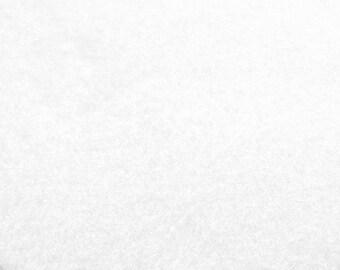 White Felt Sheets - 6 pcs - Rainbow Classic Eco Fi Craft Felt Supplies