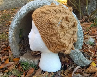 Gwen Stacy Textured Lace Slouchy Hat