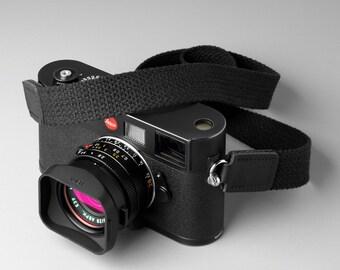 """Custom made 100% cotton Leica camera strap 1"""" x 35"""""""