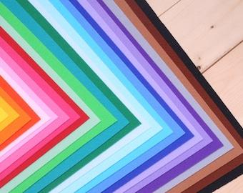 "35 Color Set of Hard Felt, 11.80"" x 17.70"" (30 x 45 cm)"