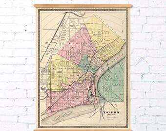 Old map of Novara Italy Novara map fine reproduction