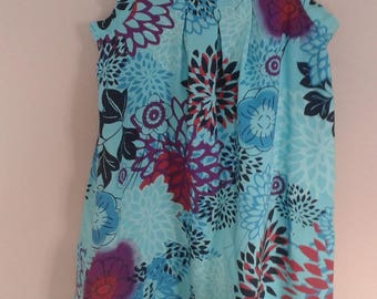 dress with blue patterned strap 18 months