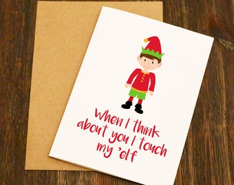 All I Want For Christmas Is You.. Just Kidding Can I Have Some Bike Parts. Cycling Boyfriend Girlfriend Christmas Card Funny Wife Husband