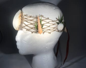 Merman Shell Headband