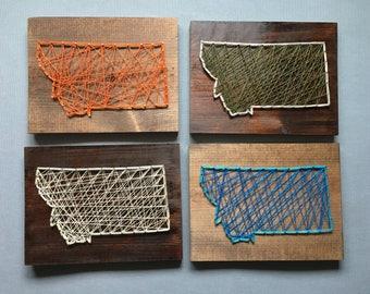 Montana String Art