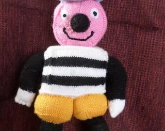 Hand knitted 'Bertie Bassett
