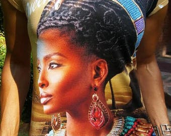 Nubian Queen Ladies T-shirts