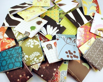 30  Matchbook Notepads  Matchbook Favors in  Funky Mix