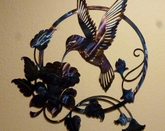 Hummingbird Wall Art AN01