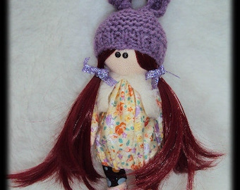 """Lucy"" rag doll"