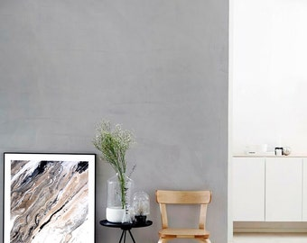 Earth II Print (Paint, Acrylic, Abstract, Fluid Painting, Wall Art, Home Decor,  Unframed or Framed print)