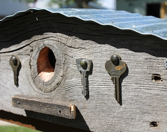 It's a key-per Birdhouse