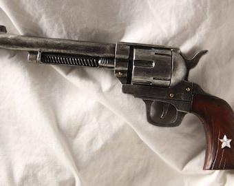 Revolver pistol resin wall art decor