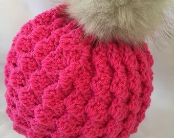 Crochet Pattern - Kayla Hat, crochet hat pattern (child, teen, adult sizes)