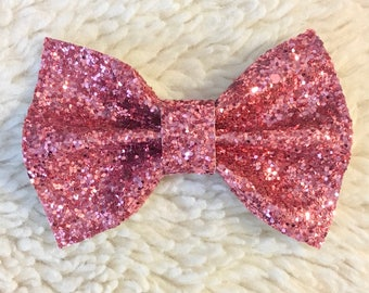 Rose Pinch Bow
