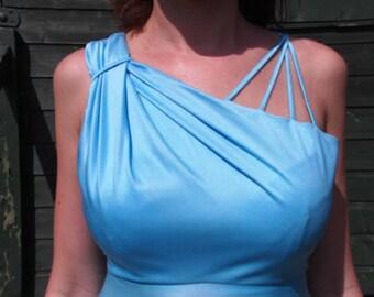 Grecian style vintage dress