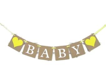 Gender Reveal Banner, baby shower banner, girl baby shower decorations, gender reveal party decor, baby shower sign, gender reveal ideas