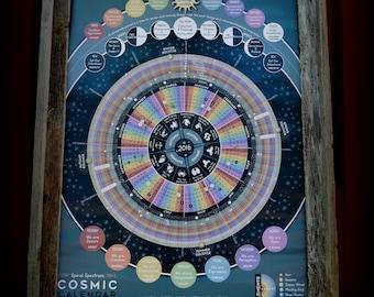 2016 Spiral Spectrum Cosmic Astrology Calendar