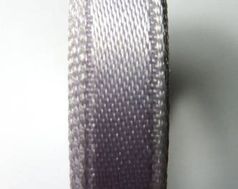 13 mm at the meter Lavender satin ribbon clear 1.33 b.