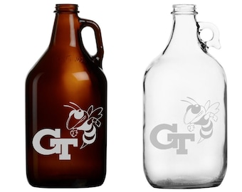 Georgia Tech - Mug - Pint Glass - Beer Growler - Pitcher