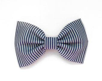 Jumbo Lila Bow, Sailor Blue